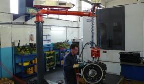 Placing onto a machine tool