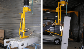 Gripper-with-a-tilting-module-for-concrete-elements