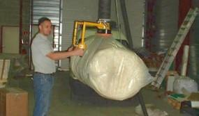 Moving-of-foil-wrapped-loads
